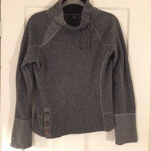 Prana Breathe Wool Turtleneck Sweater